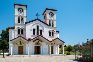 Church of St. Gregory the Theologian New Karvalis