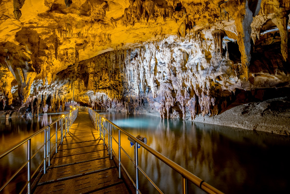 Cave Sources of Aggitis River  Eastern Macedonia - Thrace
