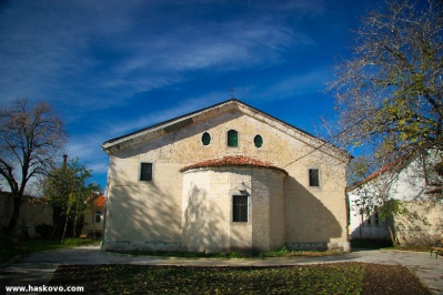 Η Εκκλησία Κοιμήσεως της Θεοτόκου - Χάσκοβο