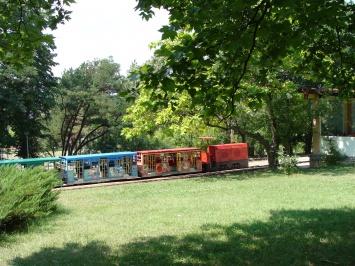 Παιδικός σιδηρόδρομος στο Kardzhali