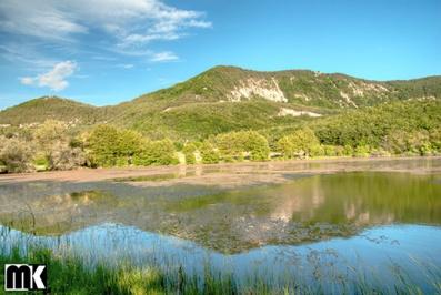 Λίμνες κοντά στο χωριό Lebed