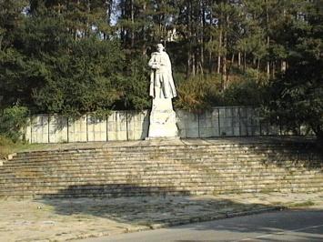 Μνημείο Καπετάν Petko στην πόλη Krumovgrad